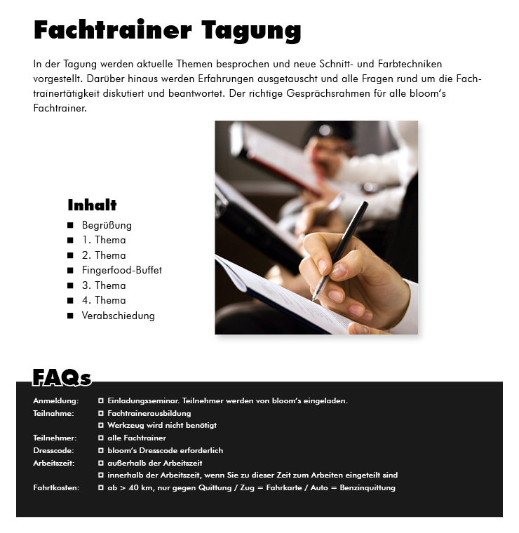 Fachtrainer Tagung